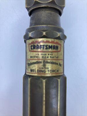 Vintage Craftsman Welding Torch Model 624.54741 No. 906