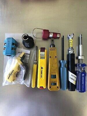 Cat5 Copper Coax Installer Tools Cable Telco Harris Jonard Jameson Lot