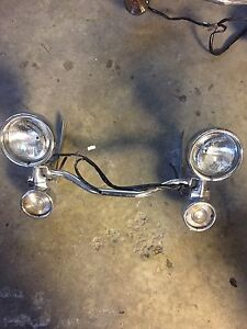 Harley Davidson Electra glide touring auxiliary lights Cambridge Kitchener Area image 1
