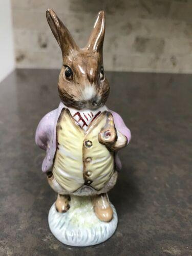 Beatrix Potter Mr Benjamin Bunny Figurine F Warne & Co Beswick England 1965