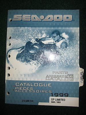 1999 Bombardier Sea Doo Parts & Accessories Catalog Guide XP Limited 5868 5869