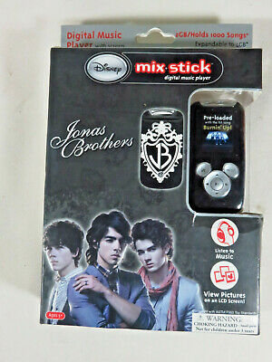 Disney Jonas Brothers 2GB-4GB Mix Stick Digital Music Player MP3 SD Card Slot
