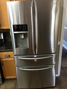 Samsung S/S French door double drawer fridge