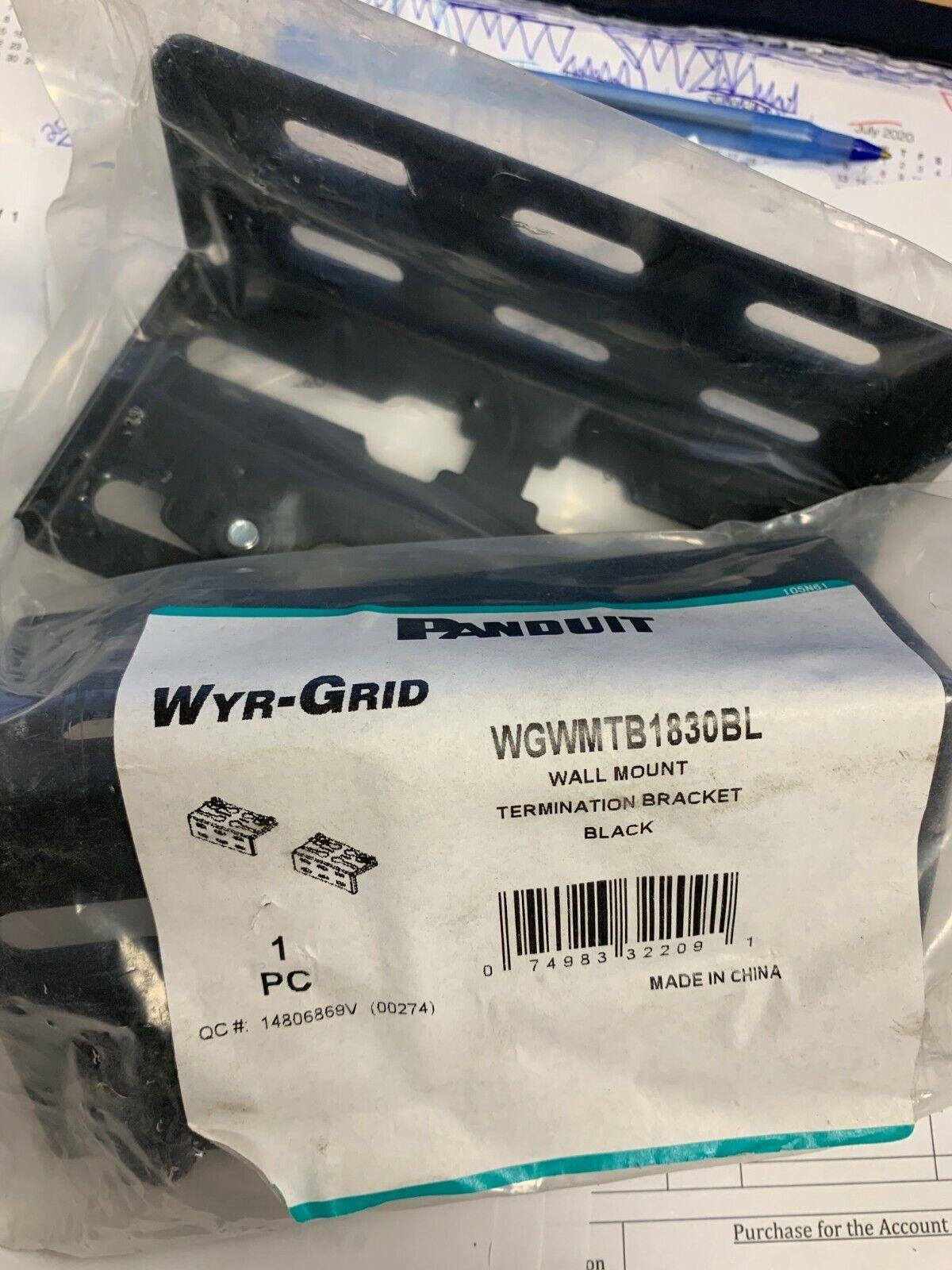 Panduit WGWMTB1830BL Wall Bracket-Lot of 3