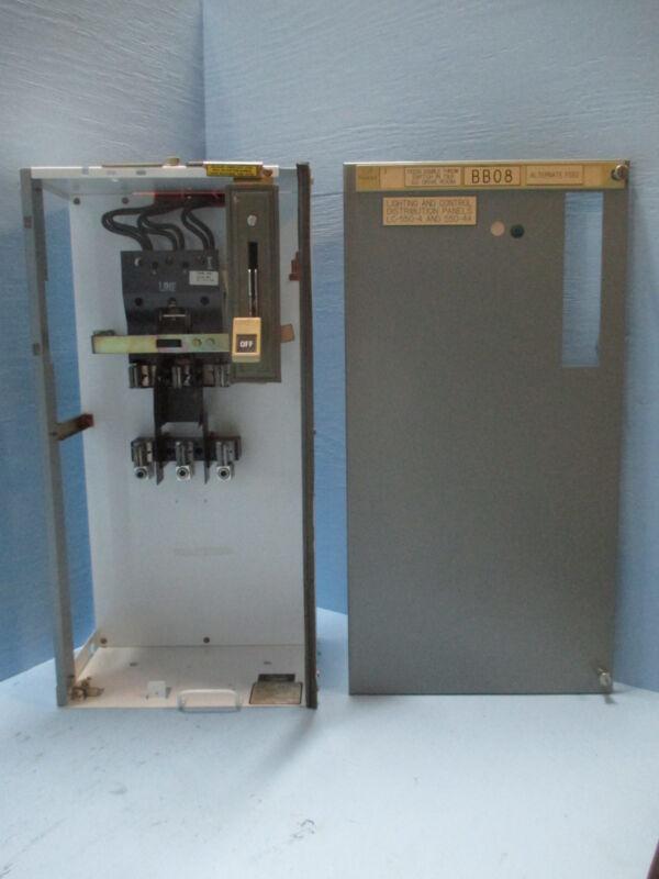 "Siemens Tiastar Furnas 89 200 Amp Fused Feeder 30"" MCC MCCB Bucket 200A Fusible"