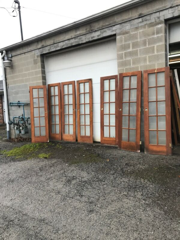 MAR L Antique pine French door 7AV price each 24 x 80 X 1.5
