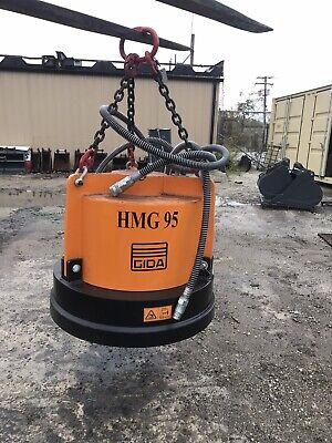 Hmg Hydraulic Excavator Magnet