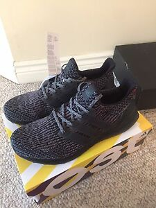 Ultra Boost 3.0 Black and Grey