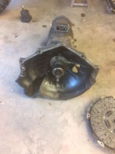 96 gmc 5 speed tranny and transfer case