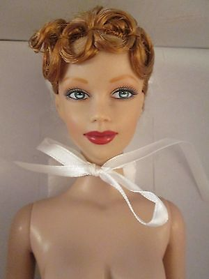 HOLIDAY GRAND NUDE Tonner Brenda Starr DOLL 300 Made 2007 Tyler BW Body Box Stnd