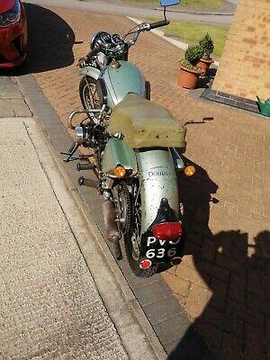 1954 Douglas motorbike 350 mk5 running spares or repairs