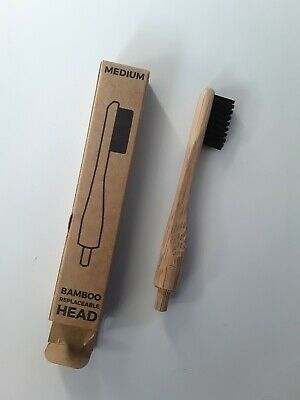 Zero Waste Club Replaceable Head Bamboo Toothbrush for sale  Shipping to United States
