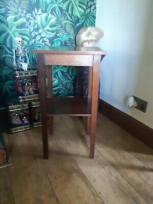 Small Mahogany Lamp or Plant Stand