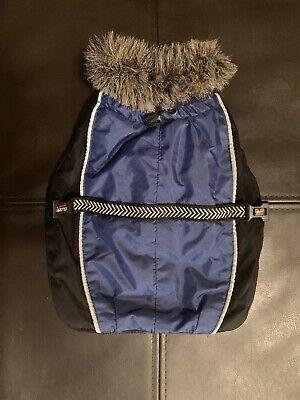 Dog Gone Smart Wear Fur Polyester Winter Reflective Blue Jacket Trailblazer 10 Dog Gone Smart Jacket