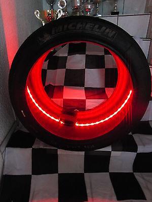 DTM, F 1 Racing-Slick/Rennreifen mit LED Beleuchtung von Race Tire Art