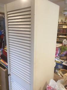 Storage Cupboard, Cabinet, Organiser, Single Door, 1800mm Tall,