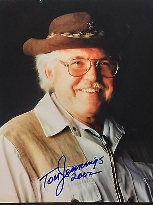 LIMITED! Tom Jennings ARCHERY LEGEND Father of the Compound Bow 8x10 AUTOGRAPHED