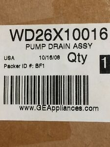 GE Dishwasher Pump Drain Assembly - BNIB