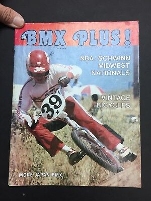 BMX PLUS MAGAZINE JULY 1979