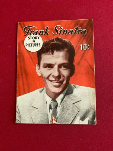 "1945, Frank Sinatra, ""Story In Pictures"" Magazine (No Label) Scarce / Vintage"
