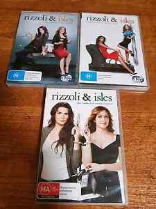 Rizzoli and isles TV series dvds Forest Lake Brisbane South West Preview