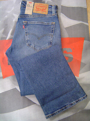 LEVI'S 527 MEN'S SLIM BOOT CUT LOW R ZIP FLY DISTRESSED STRETCH JEANS AFROBEAT