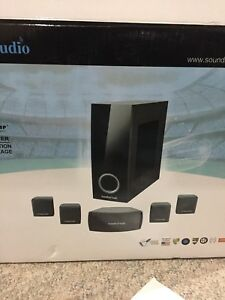 Home theatre system.