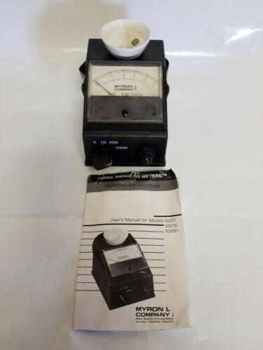 Myron L 532T1 Analog Total Dissolved Solids Meter 01489-25