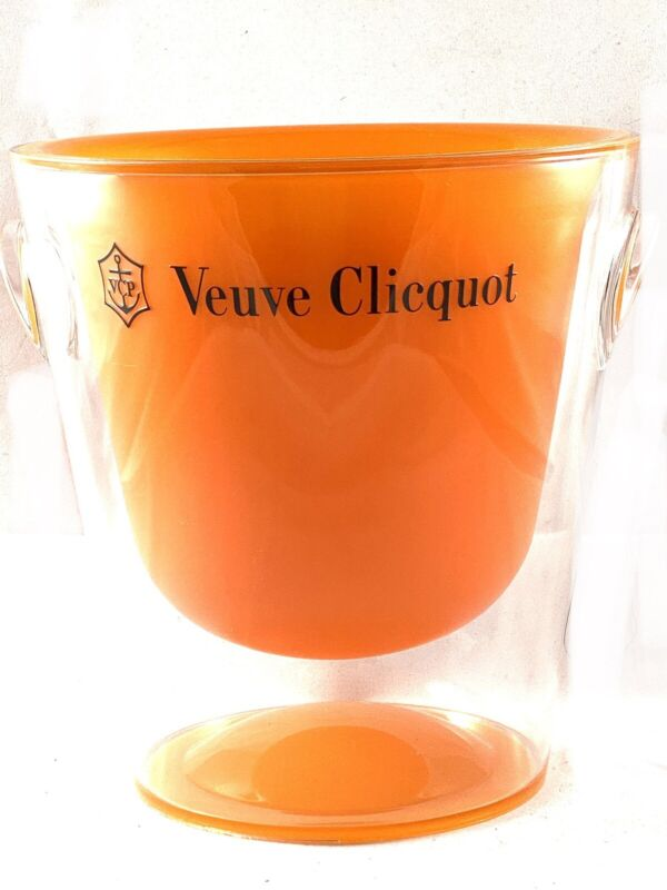 Authentic Veuve Cliquot VCP Champagne Bucket NEW Limited Edition