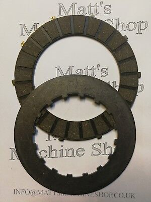TRIUMPH CLUTCH PLATES STEEL  FRICTION 1 FRICTION  1 STEEL 57 1363