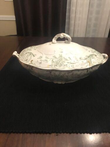 Vintage J&G Meakin Porcelain Casserole Veggie Dish with Lid