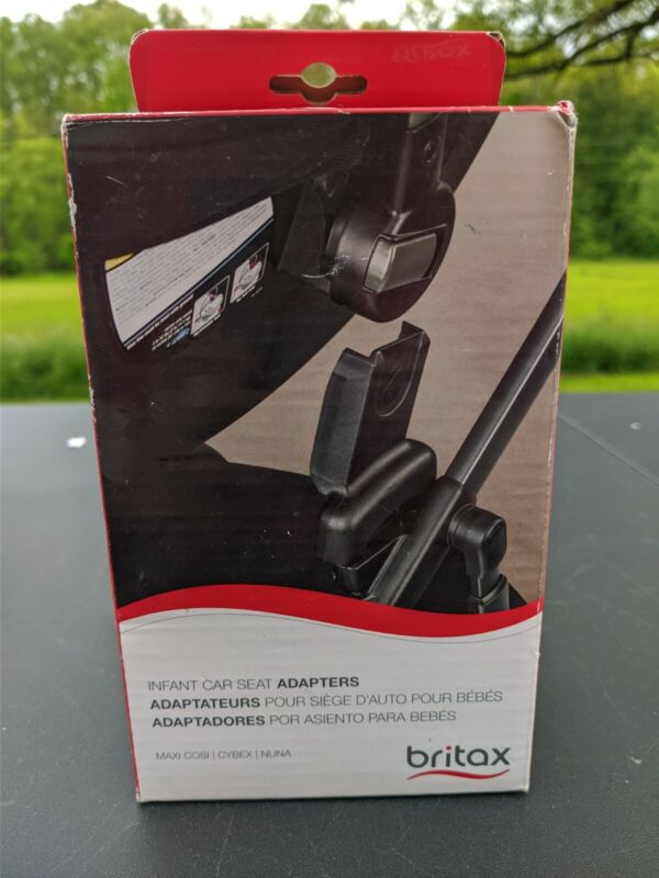 Britax Infant Car Seat Adapter for Nuna, and Maxi Cosi Car Seats New Open Box