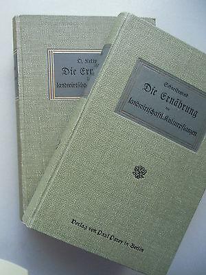 2 Bd. Die Ernährung der landwirtschaftlichen Kulturpflanzen 1915 Nutztiere 1909