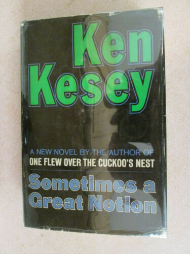 Ken Kesey SOMETIMES A GREAT NOTION SIGNED First Edition