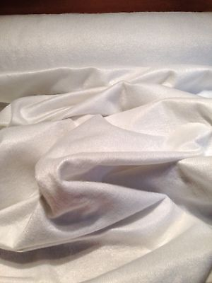 Curtain Interlining,White 180gr Lightweight,137cm Wide, Per Metre (4m Min)