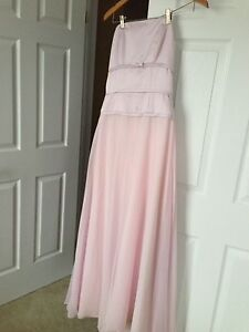 Pink formal dress - fits an 8