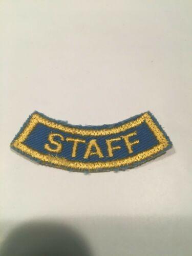 Vintage BSA Boy Scout STAFF Segment Patch
