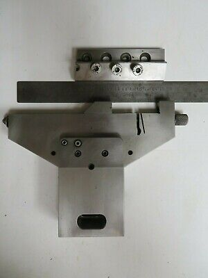 Gaiser Edm Wire Edm Lobster Claw Vise Rail - Edm Tooling - Damaged - Nl33