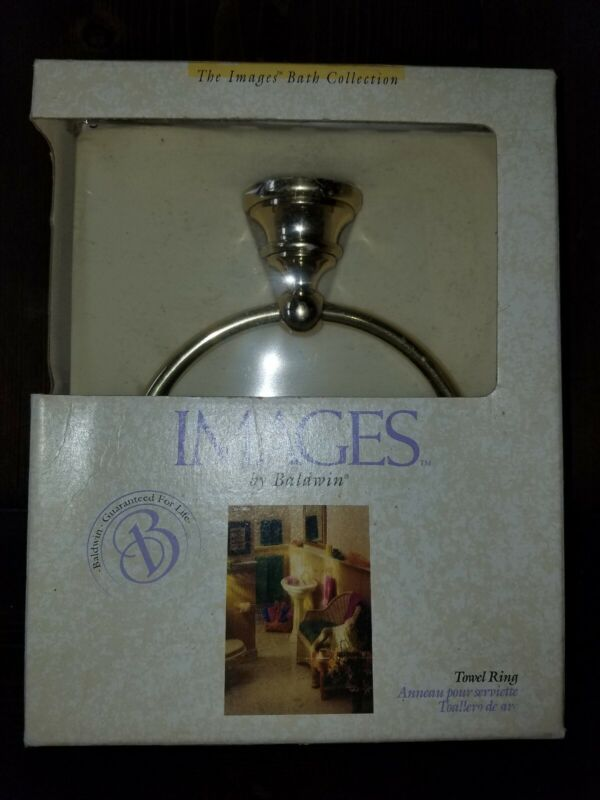 Baldwin Images Brass Towel Ring NEW!