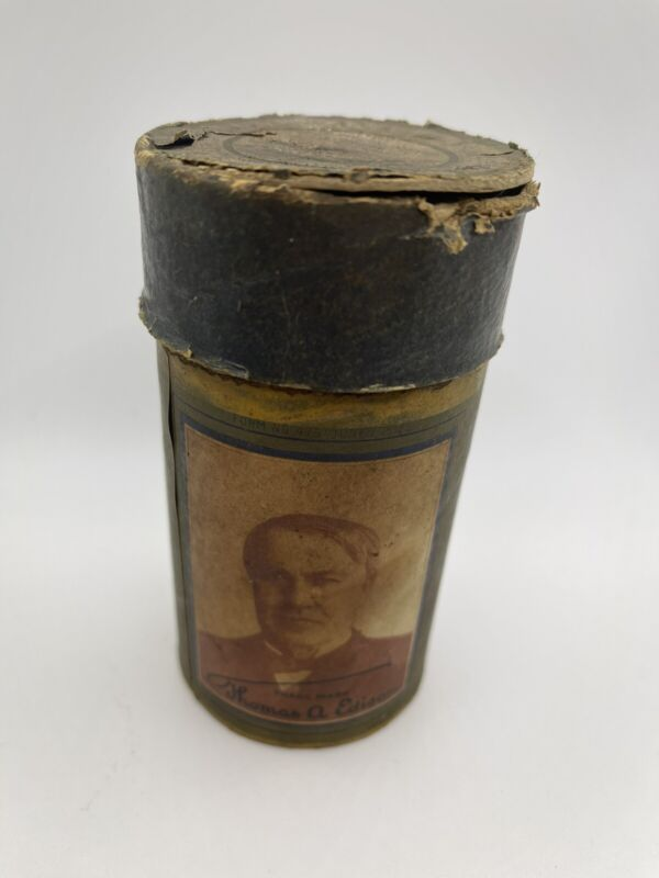 """Edison Blue Amberol Cylinder Record #1149 """"Social Justice"""" Theodore Roosevelt"""