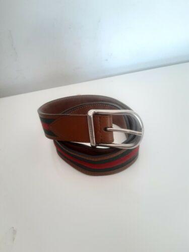 Vintage ceinture gucci rouge et vert pour homme gucci men's belt