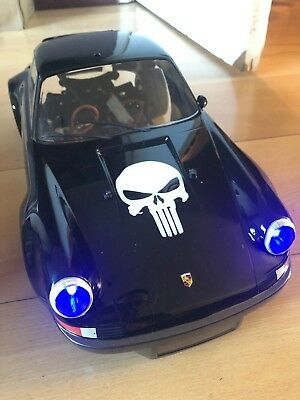 Tamiya Custom TT02 Porsche 911 Punisher LED Lights