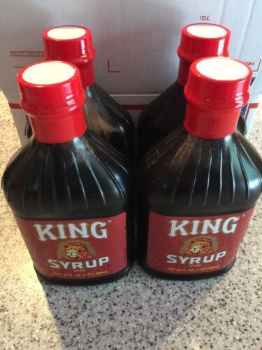 * King Syrup * 32oz * 4 bottles *