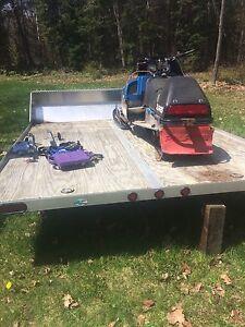 2015 rough rider trailer,snowmobile and atv