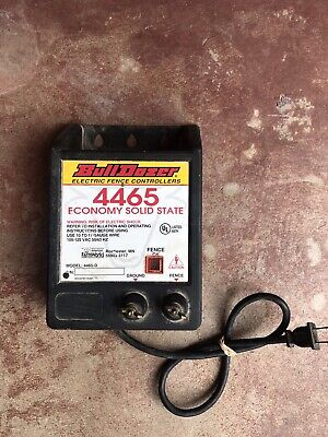 Vintage Bull Dozer Model 4465-d Electric Fence Controller - Economy Solid State