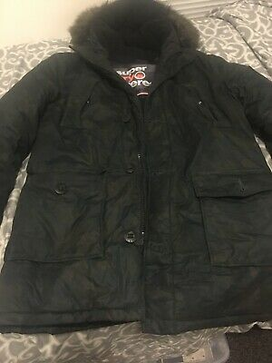 SUPERDRY EXPEDITION JAPAN CAMO MILITARY GRAY M EVEREST MOUNTAIN PARKA JACKET