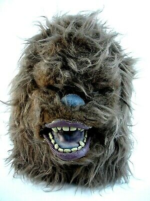 Vtg 1994 Star Wars Chewbacca Latex Rubber Fur Adult Mask Halloween Cosplay -
