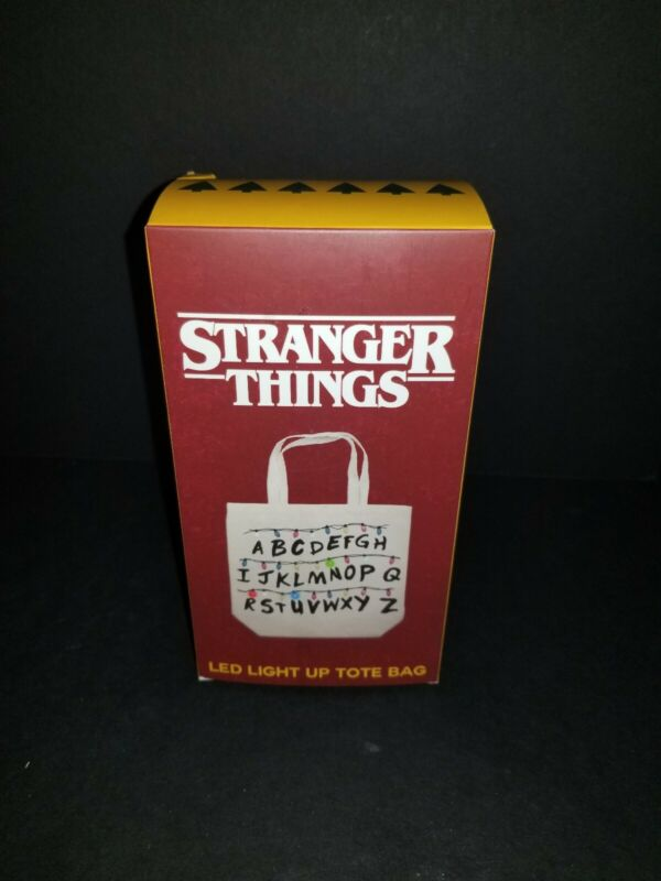 NEW Stranger Things LED Light Up Tote GameStop Exclusive CultureFly Tree Lights