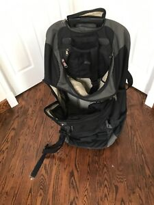 Large MEC suitcase and backpack