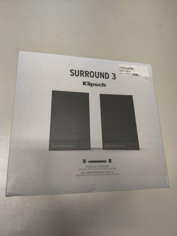 Klipsch SURROUND3 Wireless Surround Speaker - Black